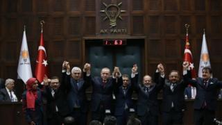 AKP'ye katılan belediye başkanları