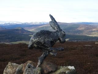 Hare statue