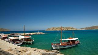 After Crete became part of Greece in 1913, anyone afflicted with leprosy was sent to Spinalonga (Credit: Elizabeth Warkentin)