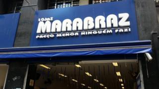 Fachada de loja Marabraz