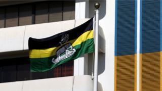 Nigeria police flag