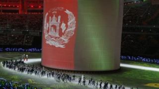 کاروان ورزشی افغانستان با ۱۷۷ ورزشکار