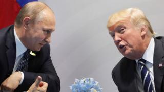 Владимир Путин, Дональд Трамп, встреча на G20 7 июля 2017