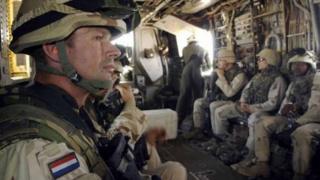 Irak'taki Hollanda askerleri