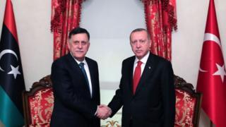 أثار اتفاق ترسيم الحدود البحرية بين أنقرة وحكومة السراج في ليبيا غضب قوى إقليمية