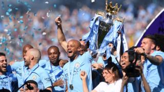 Man City win Premier League