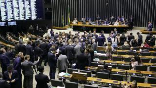 Sessão na Câmara em 23 de maio de 2017