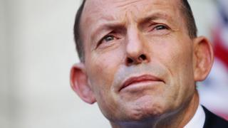 Former Australia prime minister Tony Abbott