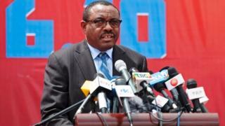 Hailemariam Desalegn yabaye umushikiranganji wa mbere kuva mu 2012