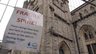 Fragile spire sign