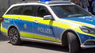 File pic of police car in Baden-Württemberg