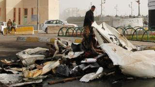 Один из взрывов в Ираке