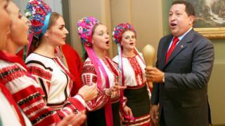 Чавес в Києві