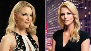 Megyn Kelly and Charlize Theron