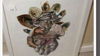 Artwork seized from Opus Art Gallery