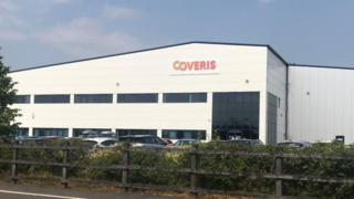 Industrial unit leased to Coveris Flexibles
