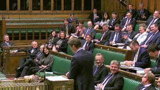 Greg Clark speaking in the Commons