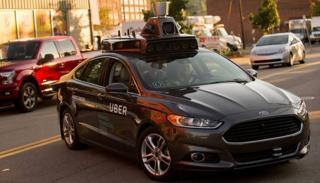 Uber self-drive car