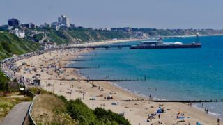 Beaches in Bournemouth