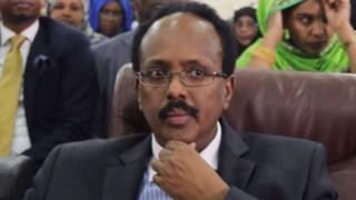 Rais mpya wa Somalia Mohamed Abdullahi Mohammed