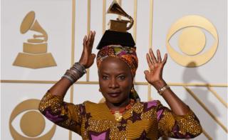 Benin's Angelique Kidjo