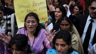 Activistas de derechos de mujeres