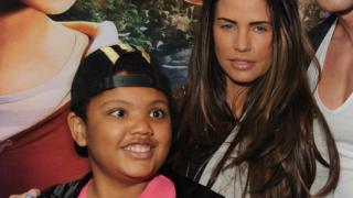 Harvey and Katie Price