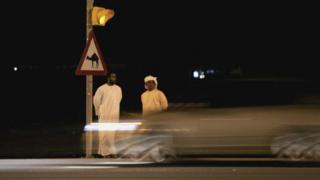 Main road for Dubai