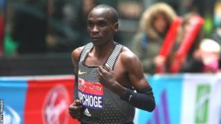Kipchoge, 33 ans, a remporté le Marathon en 2015 et en 2016 et il va participer à l'édition de 2018.
