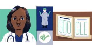 Google Doodle of Dr Stella Adedevoh