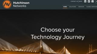 Hutchinson Networks wevbsite