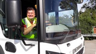 Bin lorry driver