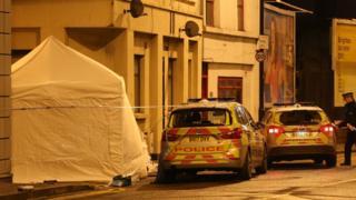 The Hackney crime scene