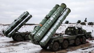 Misiles rusos S-400
