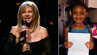 Barbra Streisand and Gianna Floyd