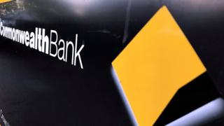 A Commonwealth Bank sign