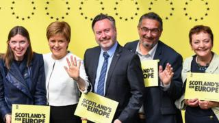New Scottish MEP sworn in - for four days