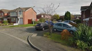 Goldcrest Close in West Derby