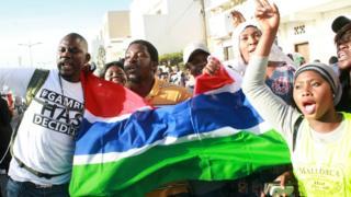 شادی هواداران رئیس جمهور جدید در خیابان های سنگال