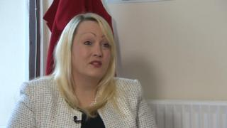 Health Minister Rebecca Evans