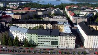 View of Helsinki's Toolo district