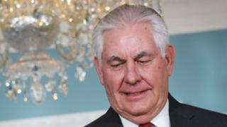 US Secretary of State Rex Tillerson, 30 November 2017