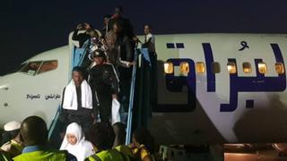 Nigerians as dem run from Libya