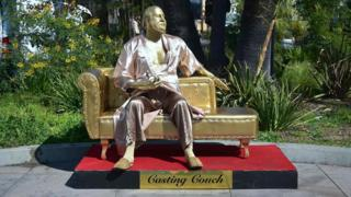 Casting Couch statue