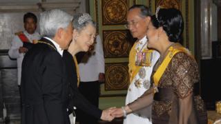 ร่วมพระราชพิธีเฉลิมฉลองครองสิริราชสมบัติครบ 60 ปี สมเด็จพระปรมินทรมหาภูมิพลอดุลยเดช