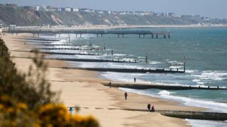 in_pictures Bournemouth 23 March 2020