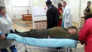 Миколу Коханівського під конвоєм поліції дроправили до лікарні, а пізніше повернули до суду