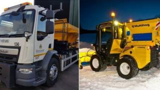 Doncaster Council new road gritters