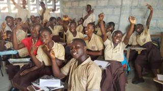 Children in Liberia