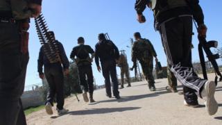 Повстанцы в провинции Хама
